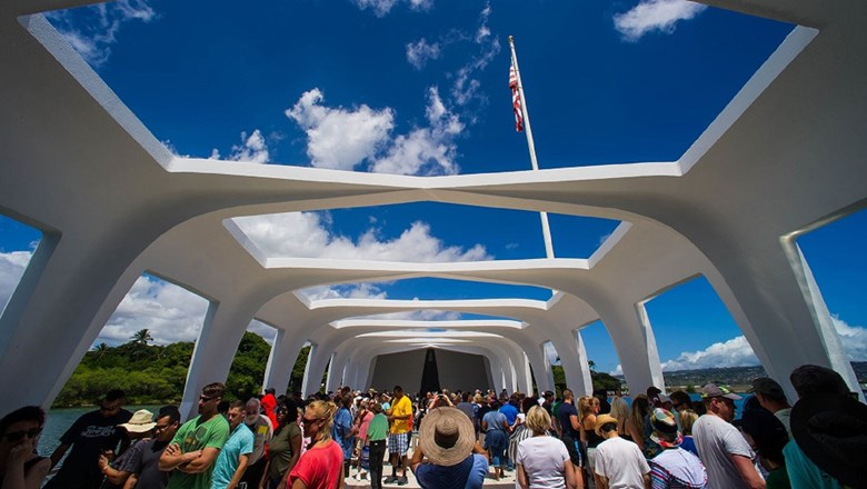 The USS Arizona Memorial at Pearl Harbor reopened Sept. 1 after 15 months of ramp and dock repairs.