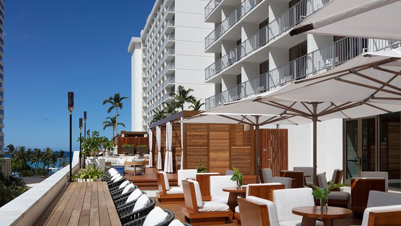 Alohilani Resort Waikiki Beach's new Longboard Club offers exclusive cabanas along with special food and other experiences.