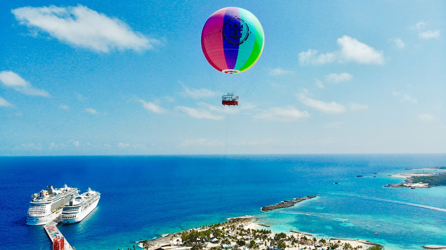 When Dorian threatened, Royal Caribbean had a balloon to deal with