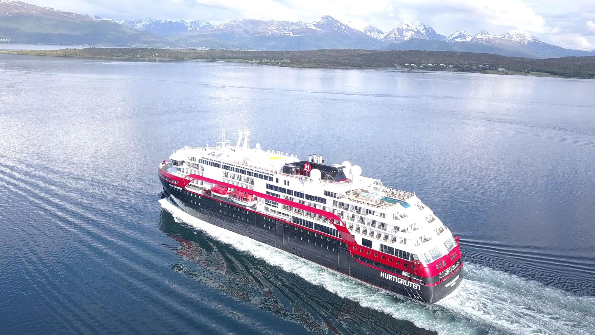 MSC and Hurtigruten detail their green initiatives