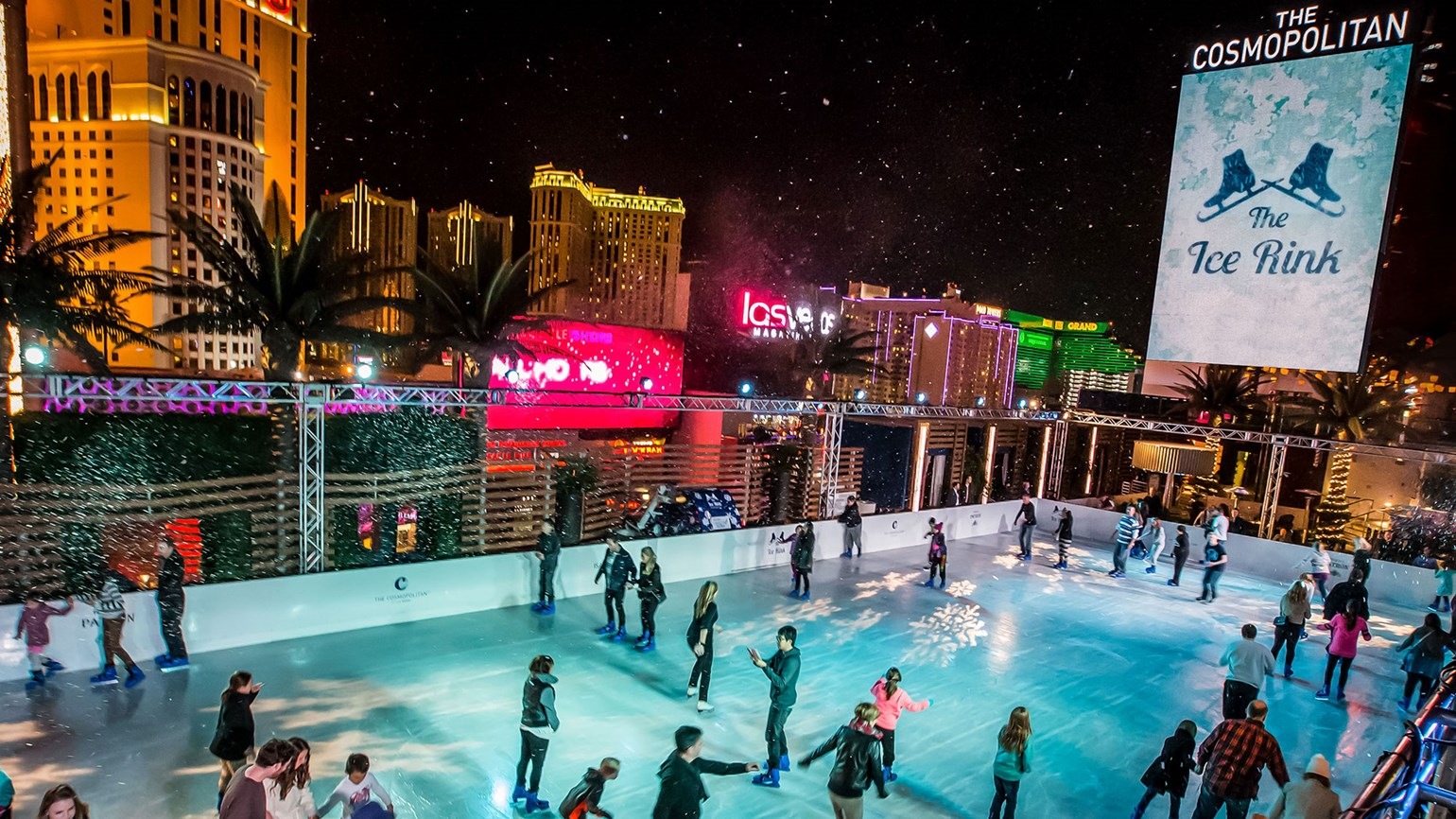 Ice rink returns to Cosmopolitan in Nov.