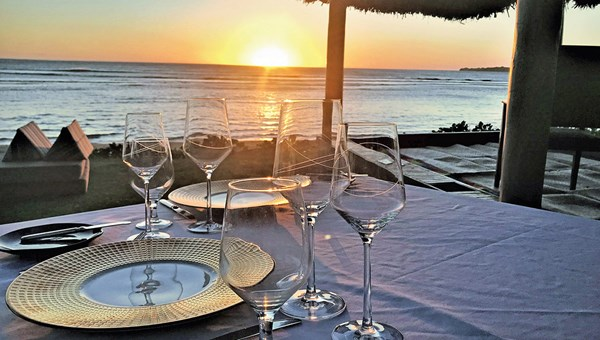 Dinner on the beach is an option at the InterContinental Fiji Resort & Spa.