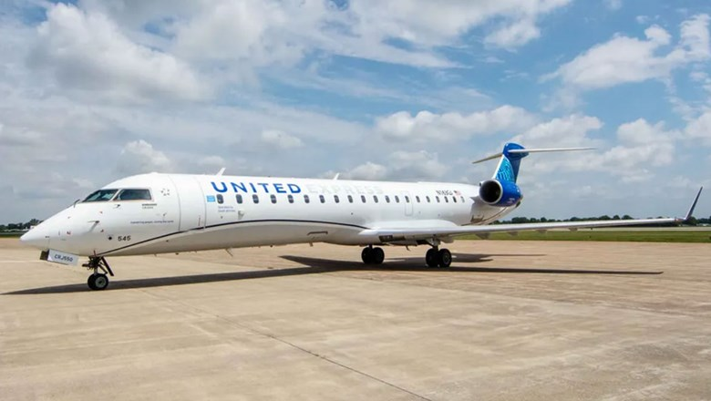 Most shuttle flights will be on United's new CRJ-550 planes.
