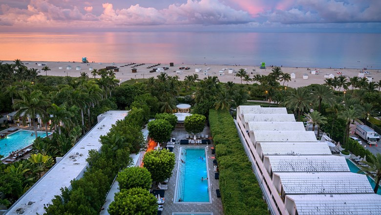 The Arlo Hotel will be hosting Arlo Beach Club, a tented event on the beach, during Art Basel Miami Beach 2019.