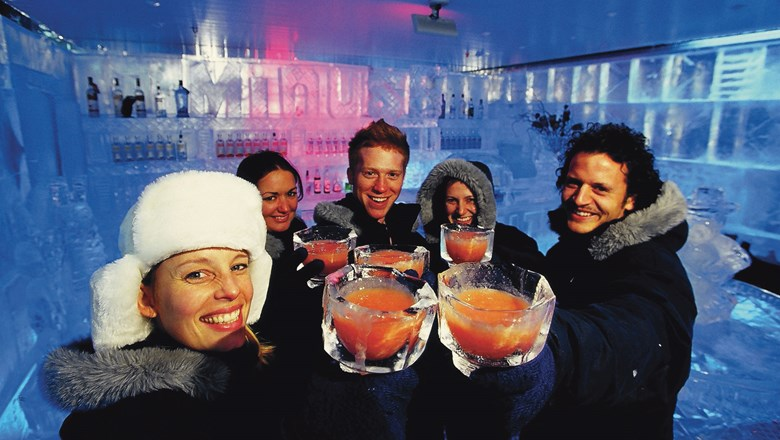 IceBar opens at the Linq Promenade on Dec. 3.