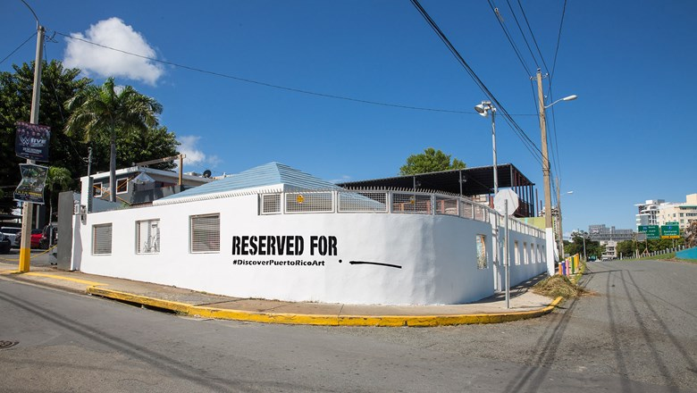 Puerto Rico's initiative invites local and international muralists to fill blank canvases on buildings.