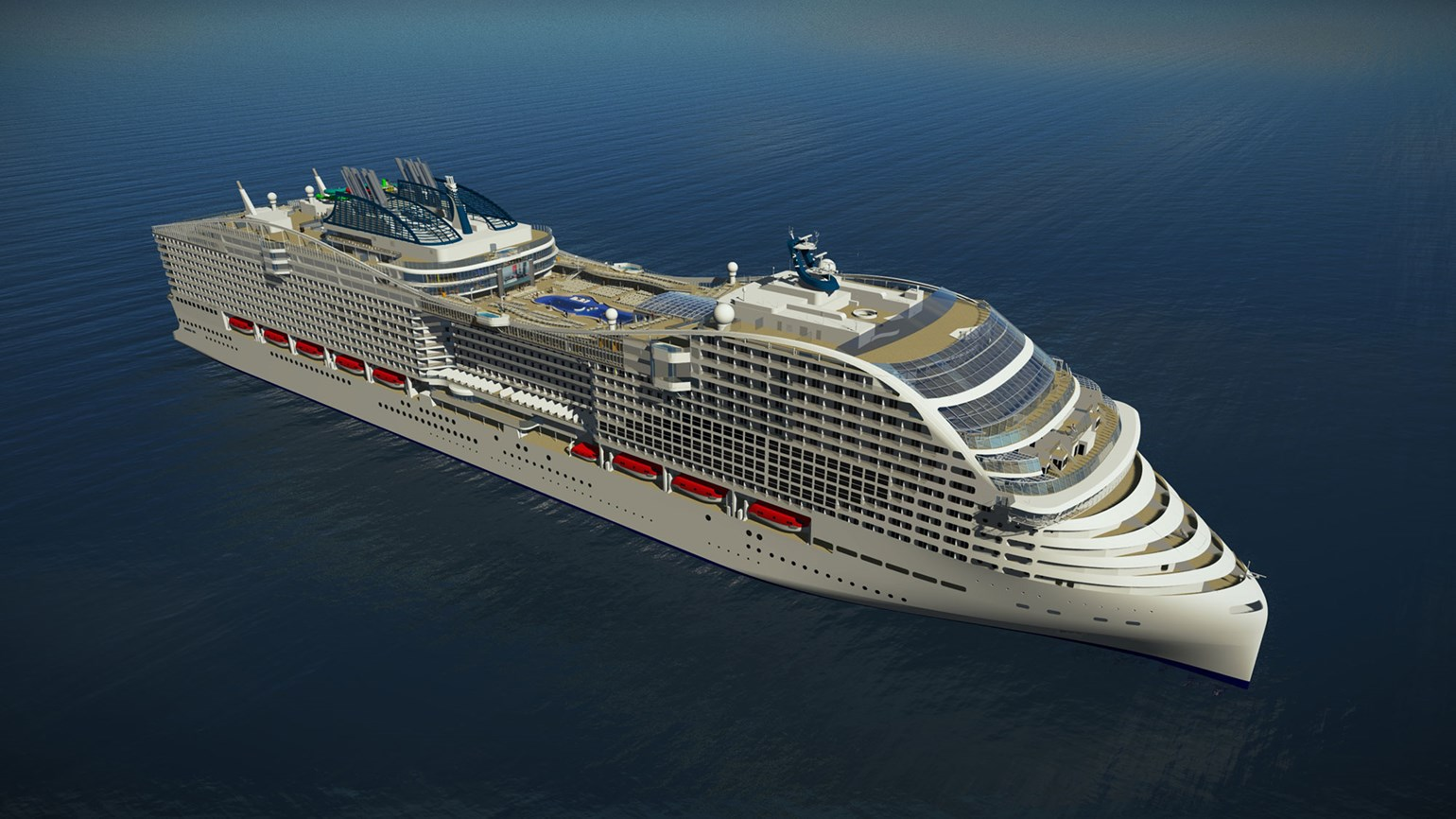 MSC ships to serve as floating hotels for World Cup
