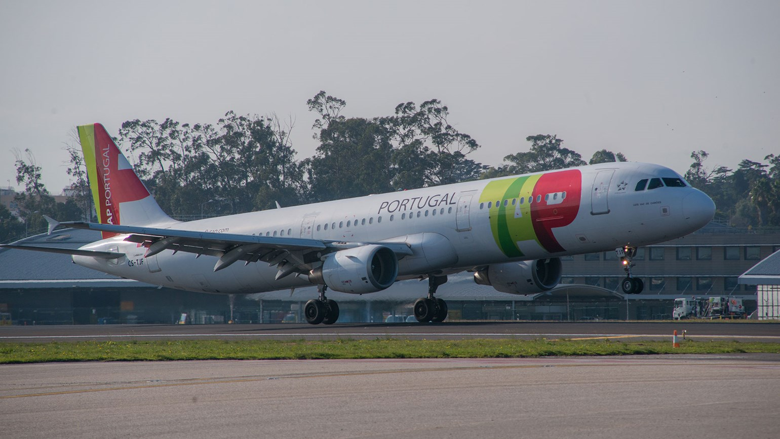TAP Portugal flying Boston-Azores route