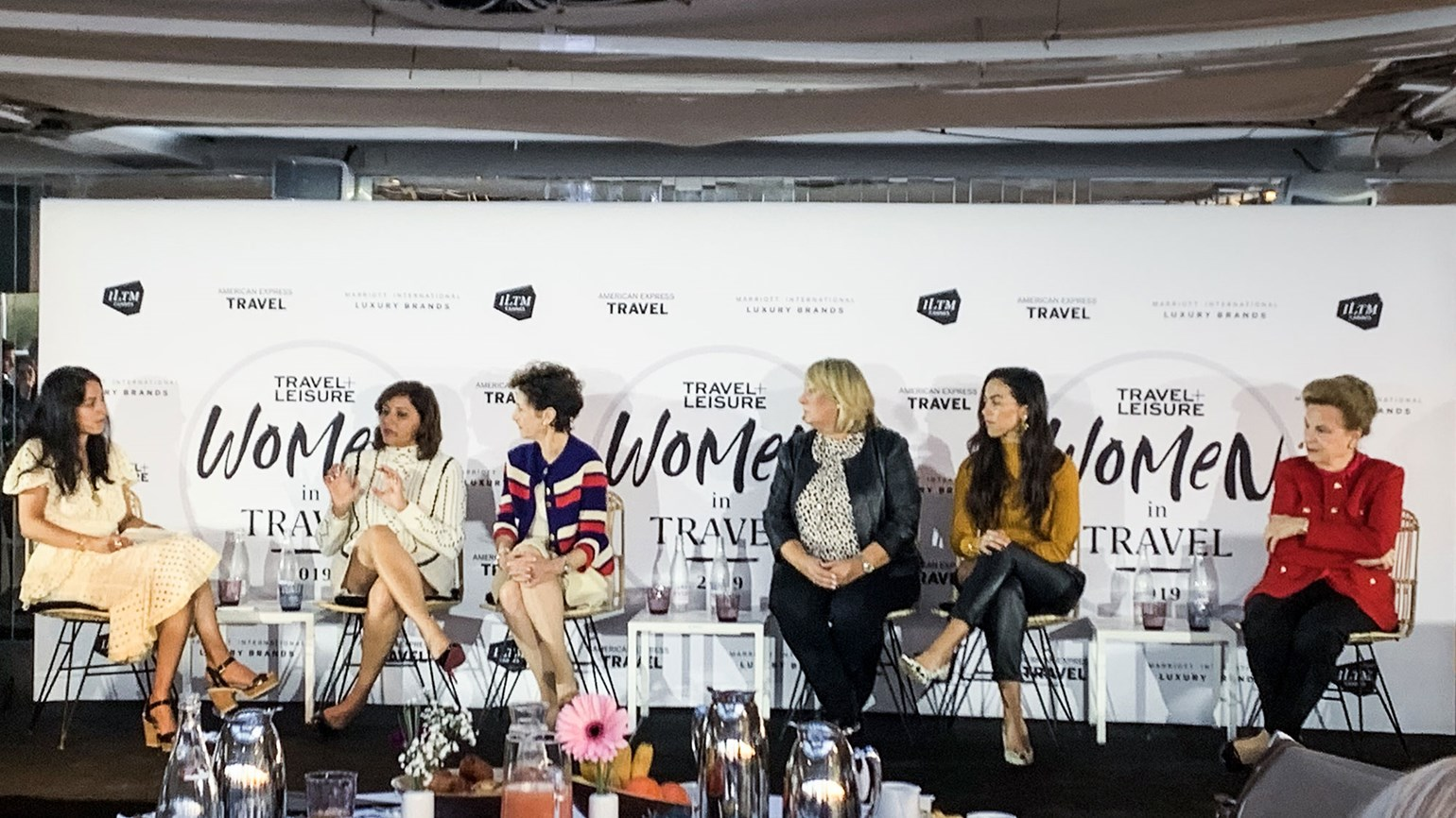 Top women execs talk about the paths to leadership