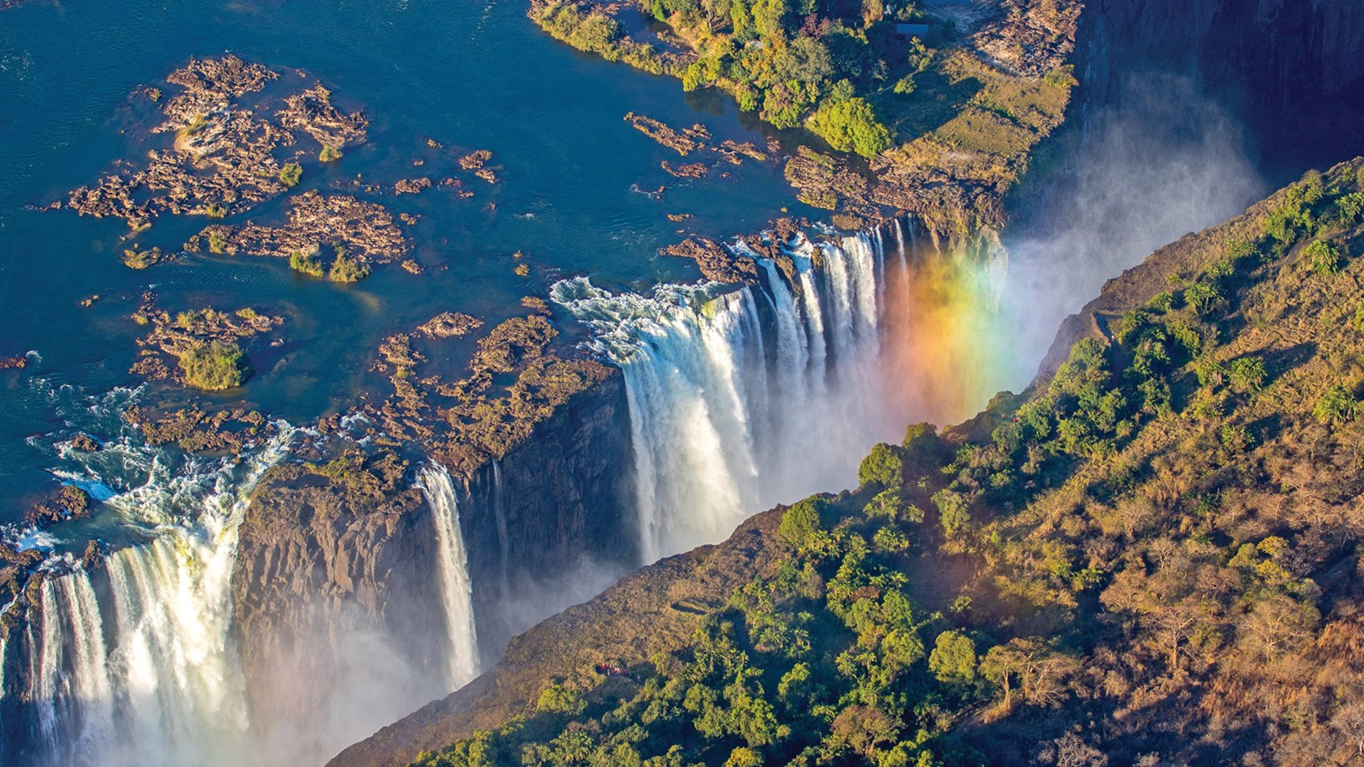 Operators dismiss reports that Victoria Falls is drying up