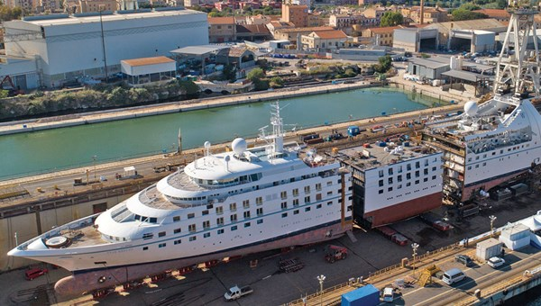 The yacht-like Windstar ships are being stretched and relaunched by owner Xanterra.