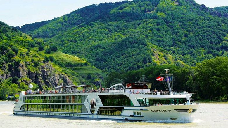 Riviera River Cruises' George Eliot sails mainly Rhine itineraries.