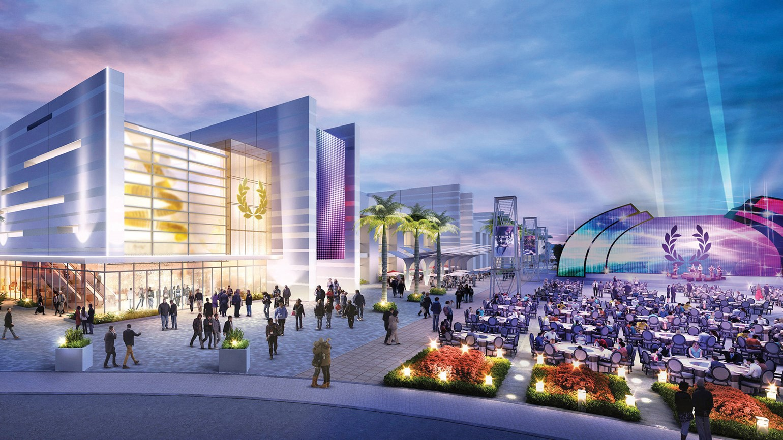 Caesars takes its soon-to-open conference center on tour