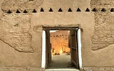 One of the restored buildings in Diriyah. Saudi artisans were commissioned to reconstruct buildings to standards that Diriyah Gate Development Authority CEO Jerry Inzerillo said were stricter than those of UNESCO.