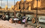 During the inauguration of Diriyah, these ''props'' were used to recreate Saudi traditional music and crafts.