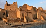 The mud-and-straw buildings of Diriyah, a Unesco World Heritage Site outside Riyadh, Saudi Arabia, where the kingdom is developing a tourism complex that will include luxury hotels, restaurants, museums, a racetrack and a golf course.