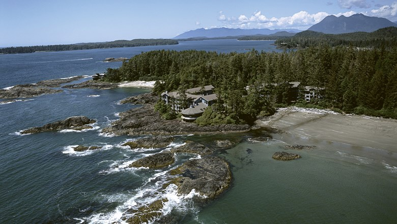 The Wickaninnish Inn in the Tofino district of Vancouver Island.