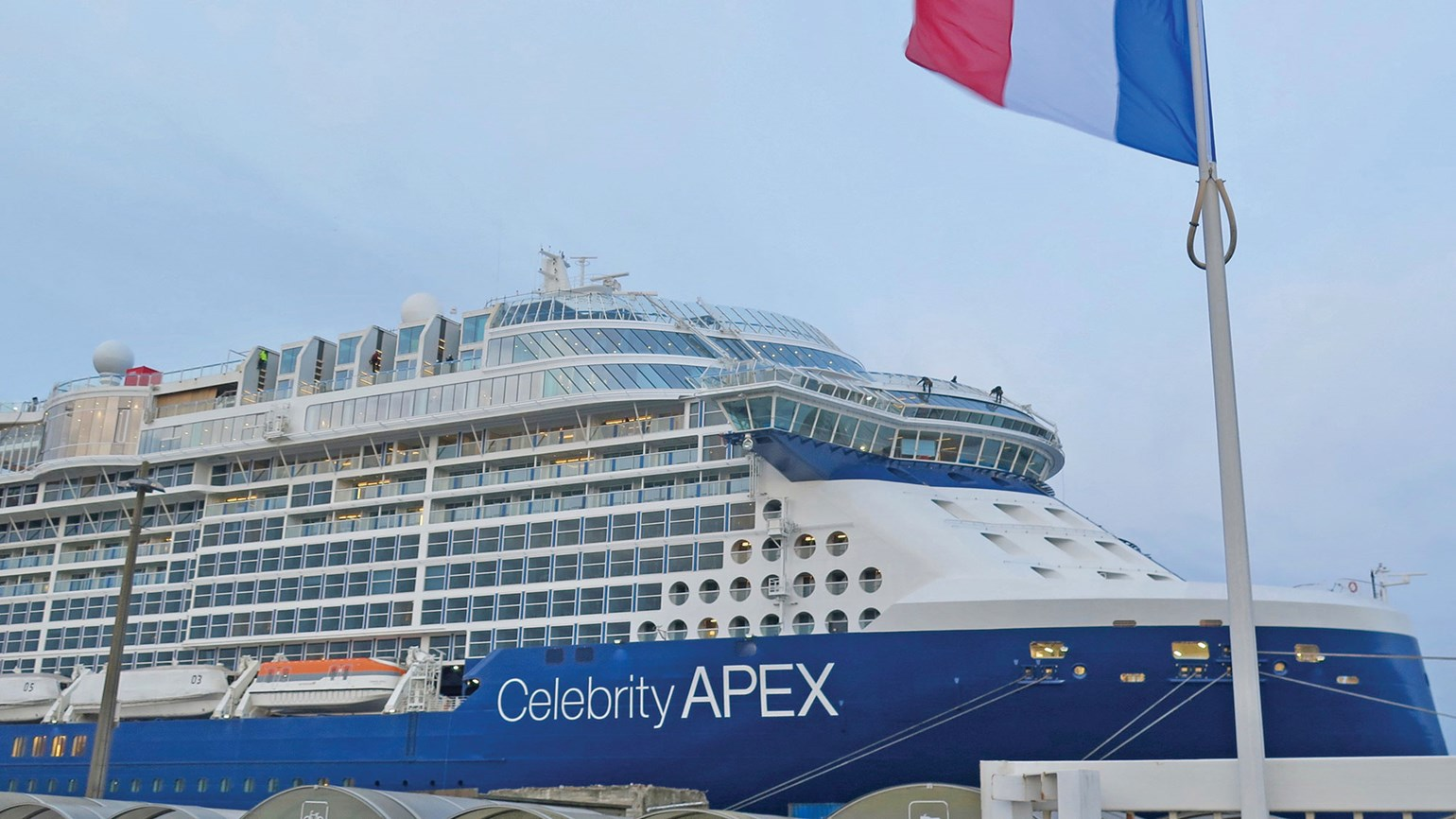 Celebrity Cruises reveals details about the Apex