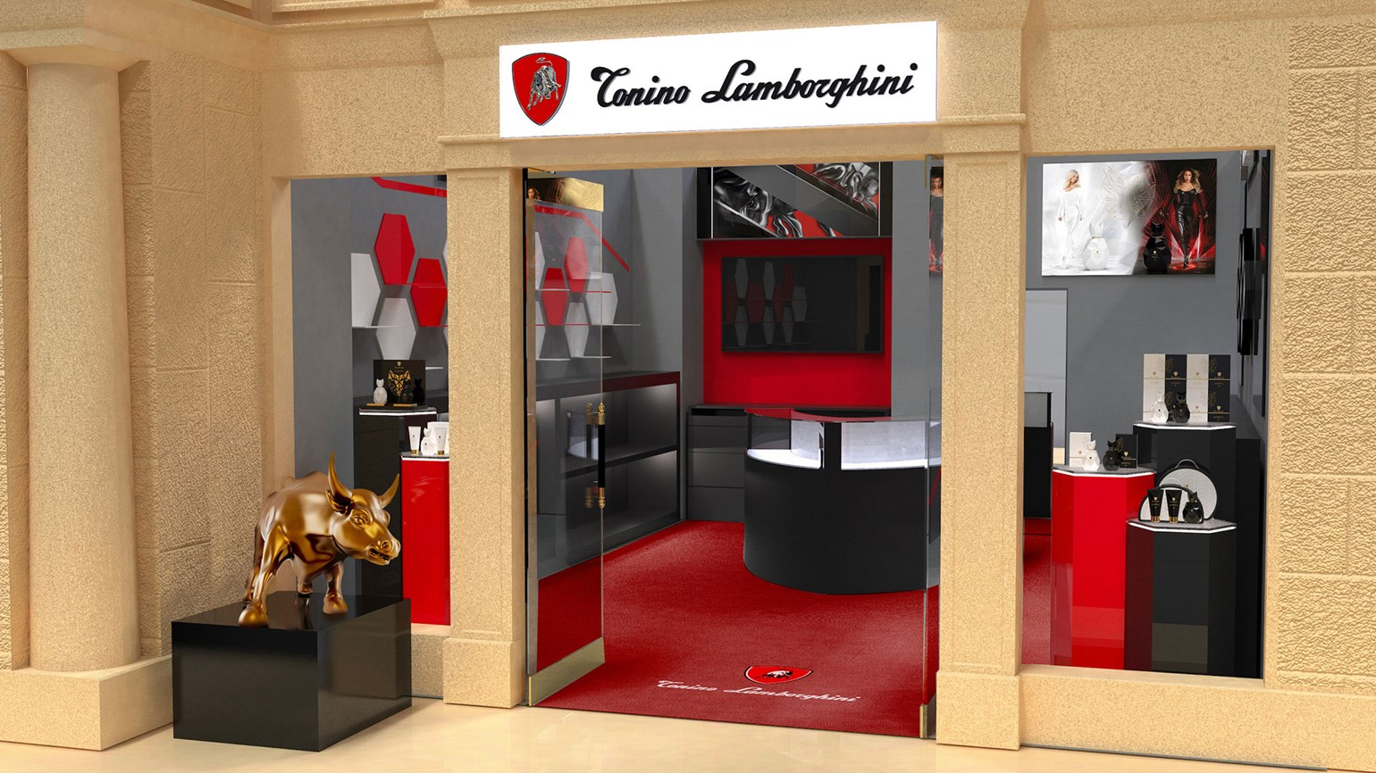Tonino Lamborghini to open shop in Caesars Palace
