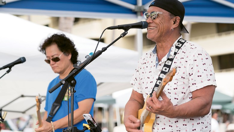 The Royal Kona recently expanded its popular music series to showcase rising stars on Saturdays.