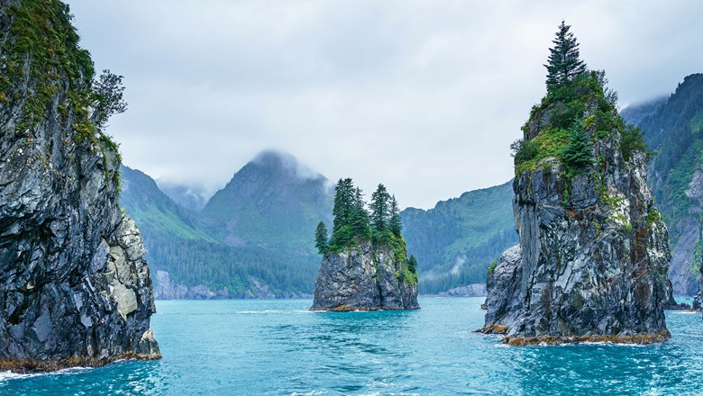 Railbookers options this year include a visit to Kenai Fjords National Park.