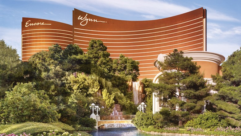 The Wynn Las Vegas.