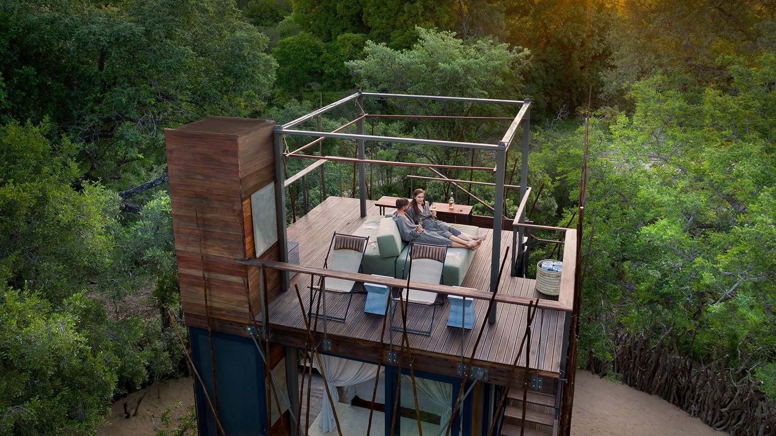 AndBeyond opens treehouse near Kruger Nat'l Park