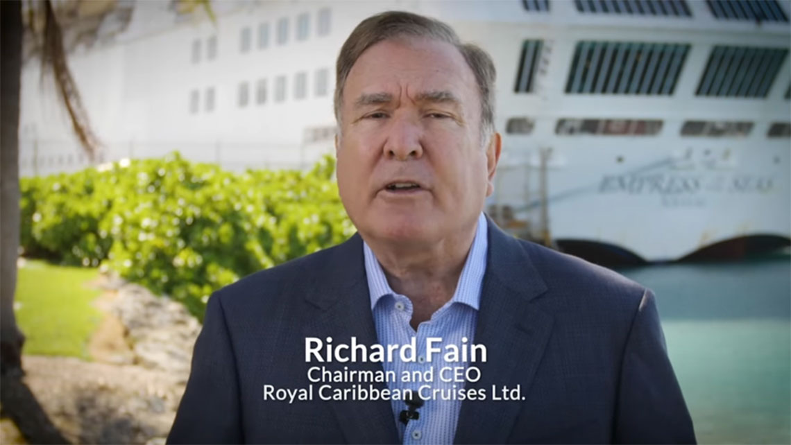 Royal Caribbean's Richard Fain to agents: This is a tough time ...