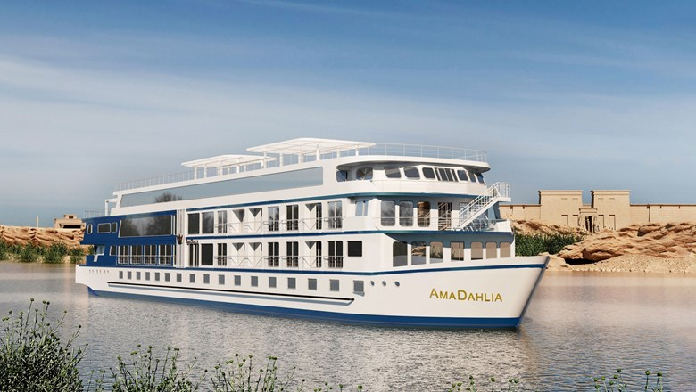 AmaWaterways to launch new ship on Nile next year