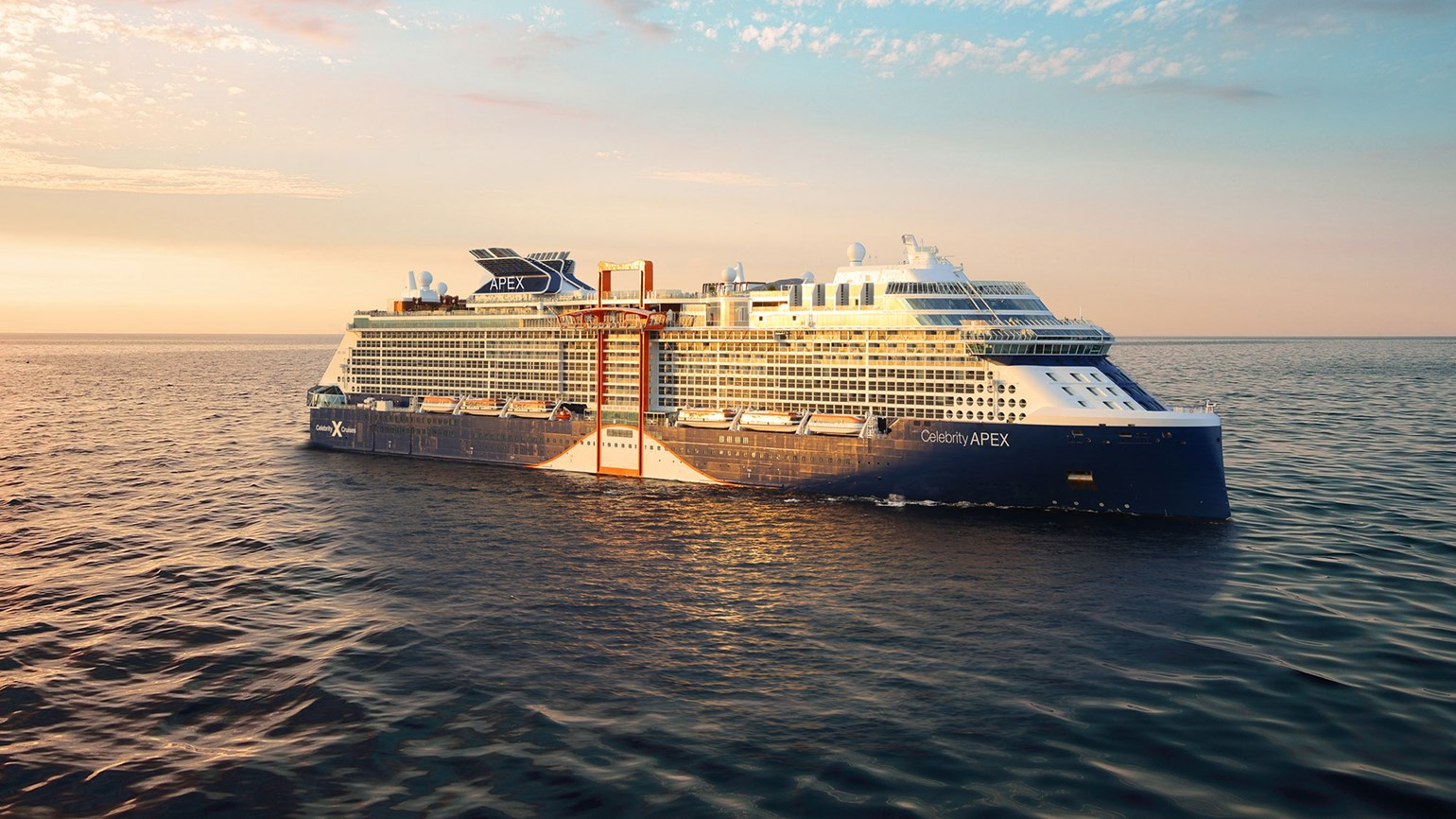 Celebrity Cruises takes 'virtual delivery' of new ship