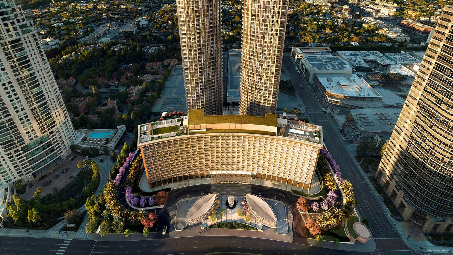 Fairmont Century Plaza to open Sept. 1