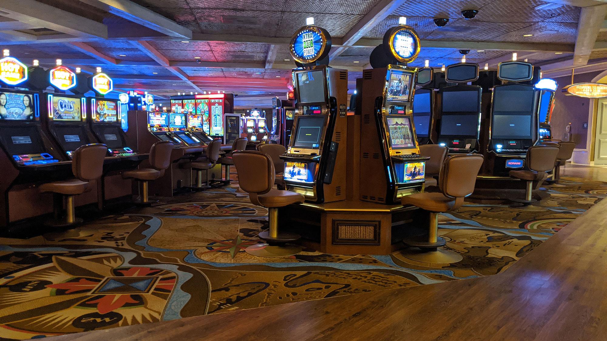 Renovations In Full Swing At Treasure Island During Shutdown Travel Weekly