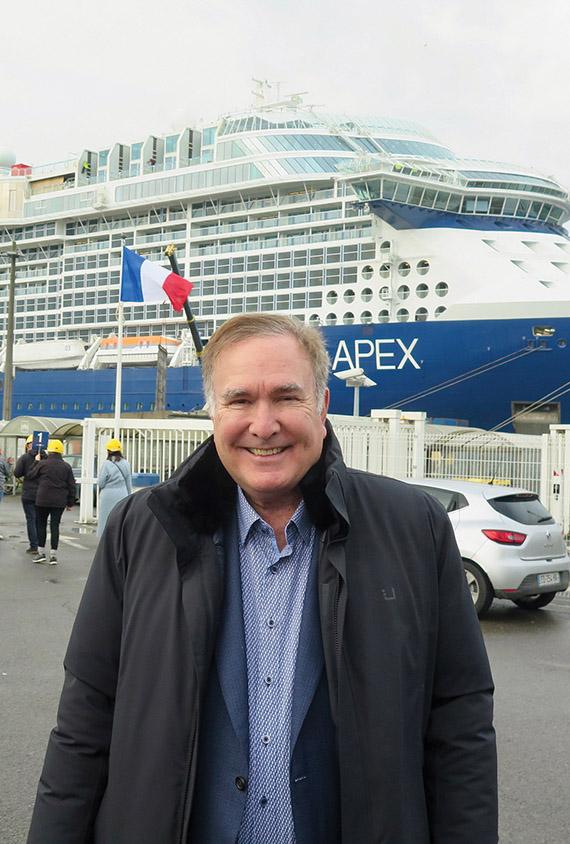 Royal Caribbean Cruises Ltd. chairman and CEO Richard Fain