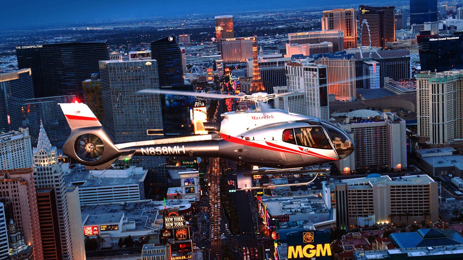 Maverick resumes helicopter tours in Las Vegas