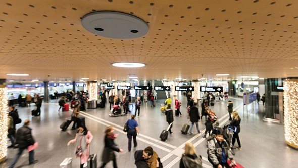 Airports prepare for crowding challenges