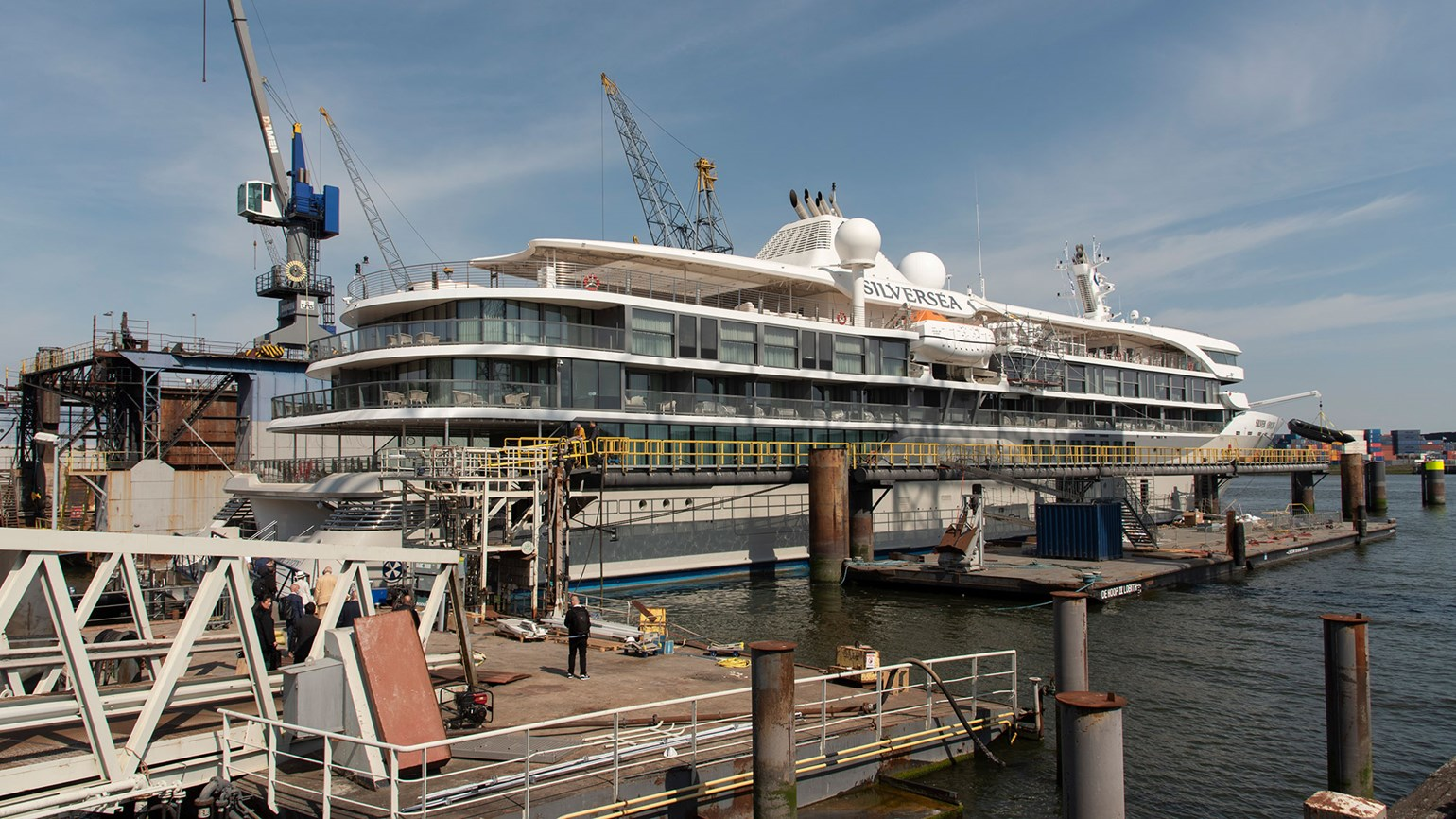 Silversea provides virtual tour of newly delivered cruise ship, Silver Origin