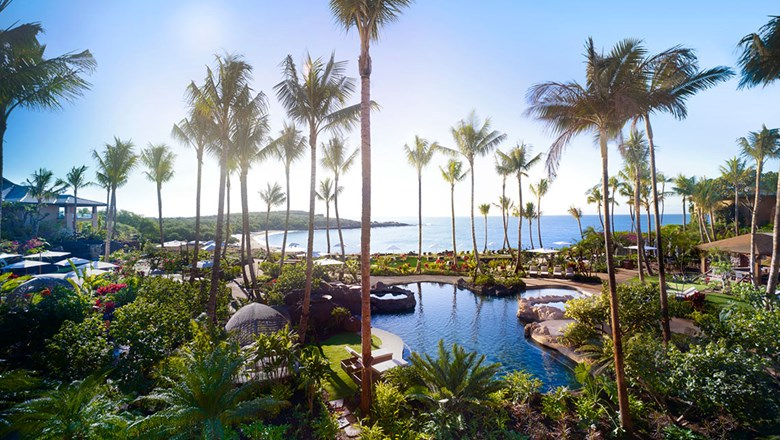 Four Seasons Resort Lanai (pictured) and Sensei Lanai, A Four Seasons Resort, are scheduled to reopen on July 1 for Hawaii residents.