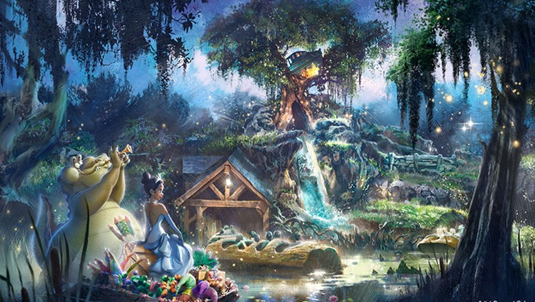"Disney said the ""Princess and the Frog"" theme ""speaks to the diversity of the millions of people who visit our parks each year."""