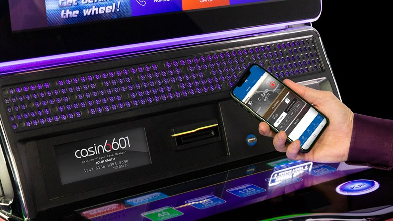Scientific Games Corp. is introducing ways players can use their phones to interact with gaming machines in casinos.