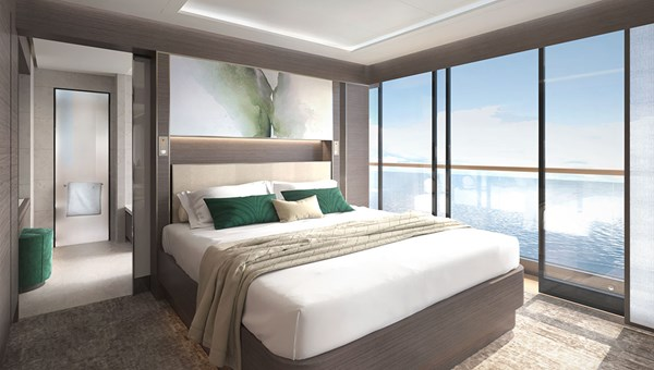 The View Suite, which has floor-to-ceiling glass throughout.