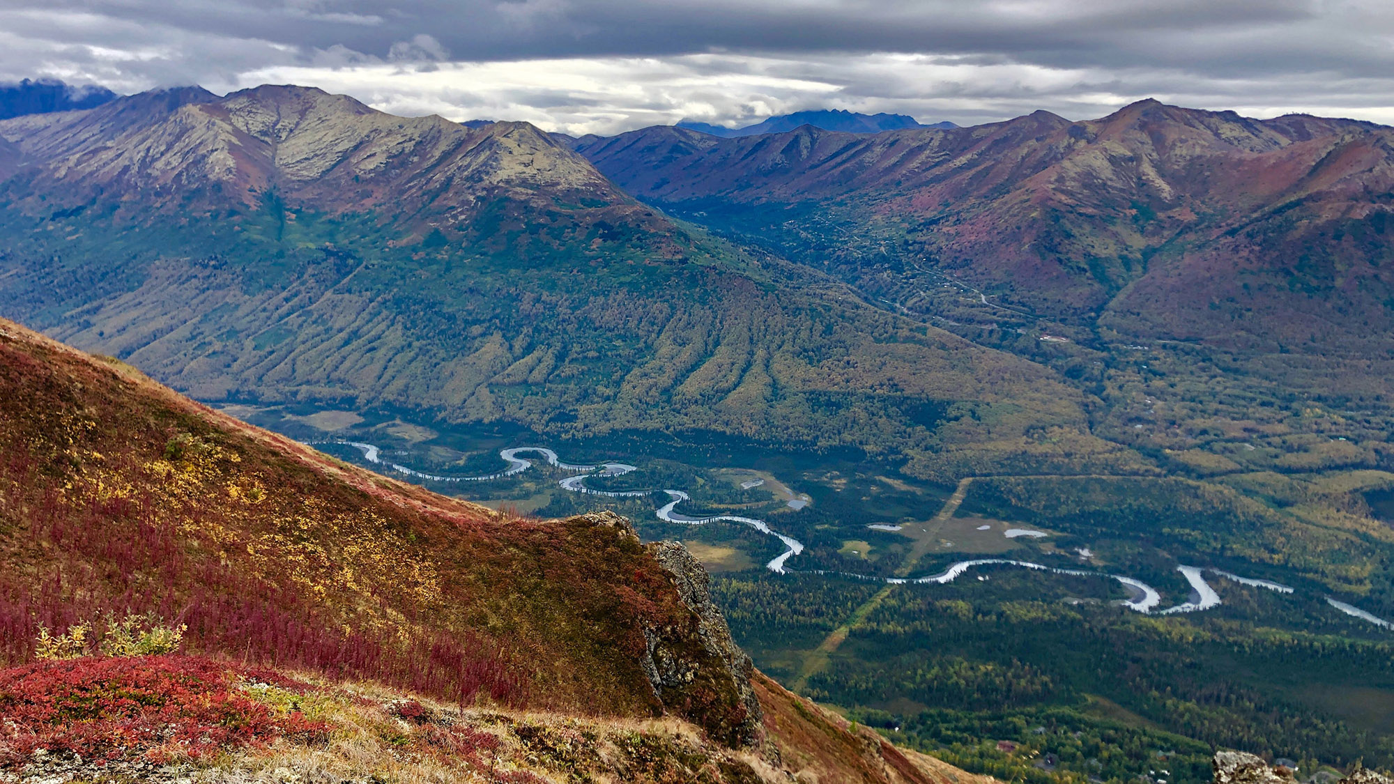 Chugach was designated a state park on Aug. 6, 1970.