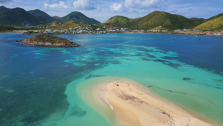Pinel Island in St. Martin has been a popular day trip for visitors. The French side of the island has just reopened to U.S. travelers.