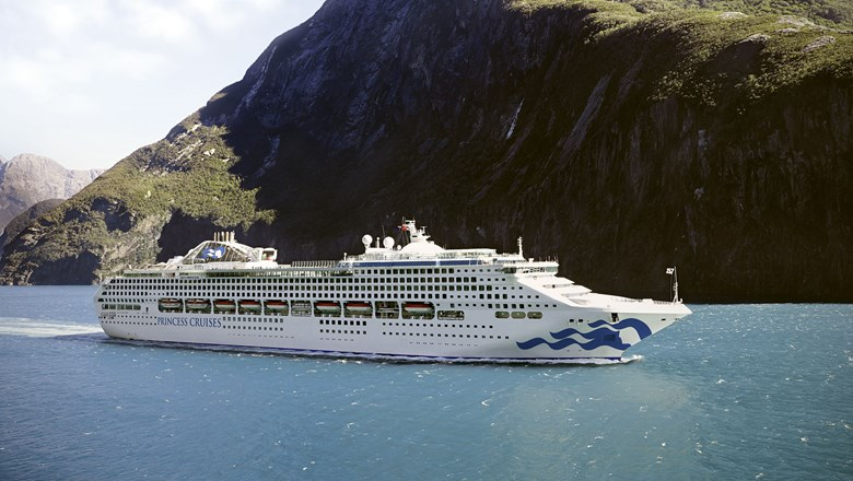 The Sea Princess, which has been sold and will depart from the Princess Cruises fleet.