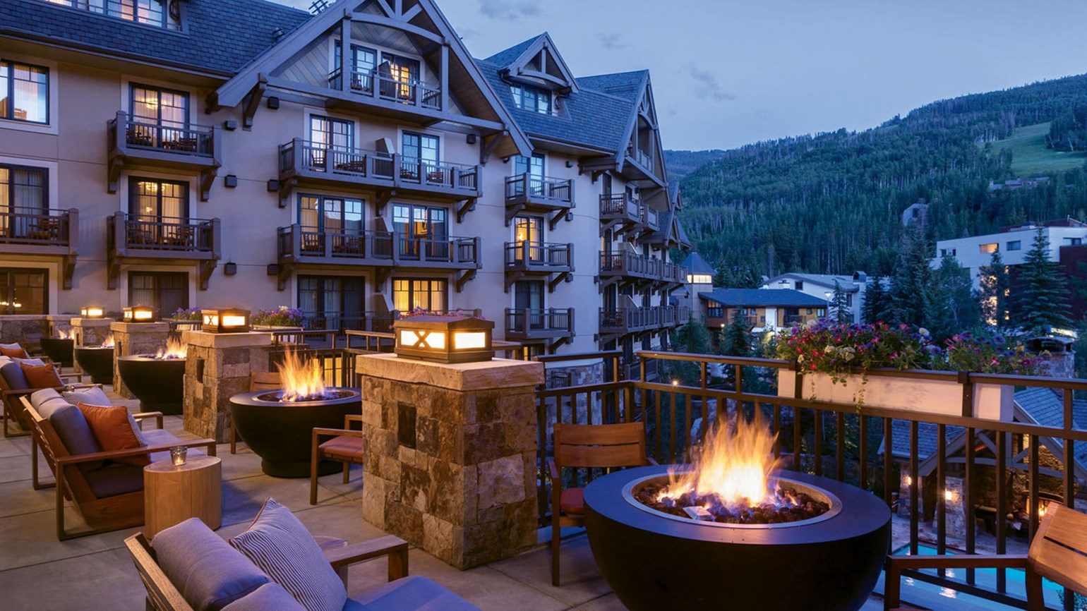 Mountain living at the Four Seasons in Vail