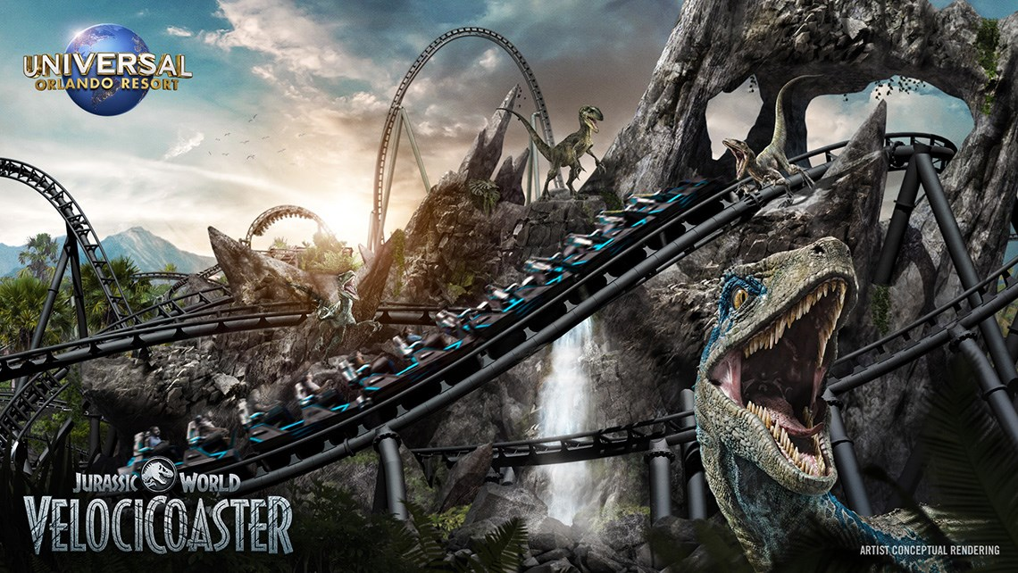 Jurassic roller coaster coming to Universal Orlando