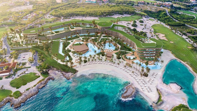 A rendering of the St. Regis resort in the Dominican Republic. St. Regis said it was designed to complement the adjacent Jack Nicklaus golf course.