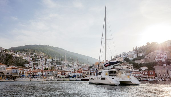 A Moorings yacht in Greece. The Moorings said it expects a strong rebound in yacht charters in 2021 as more travelers seek options for private travel.