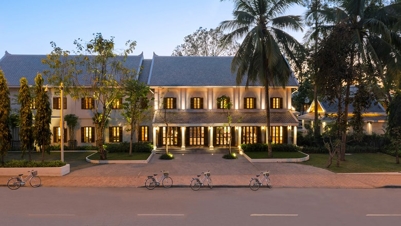 The Avani+ Luang Prabang was built as a bungalow for French military officials more than a century ago.