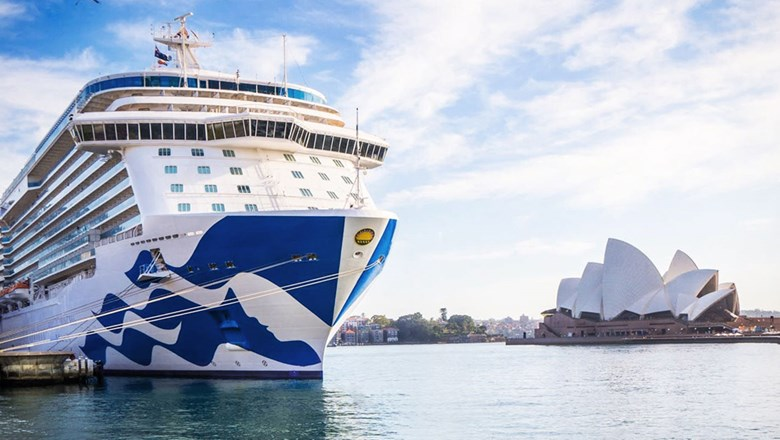 Princess Cruises had planned to place five ships in Australia and New Zealand during the region's summer season.