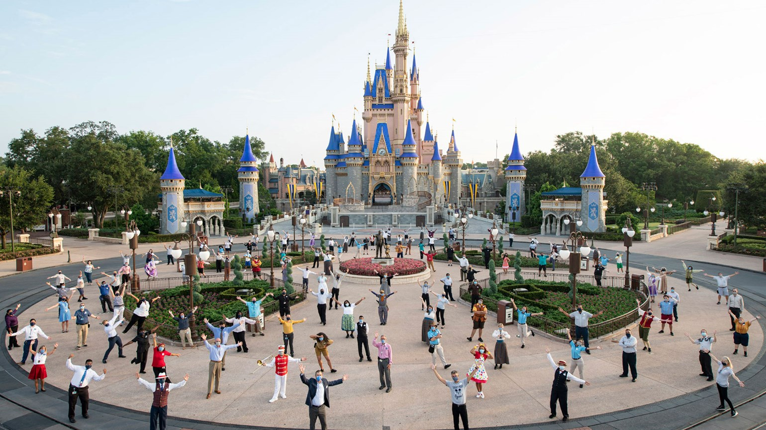 Demand for theme parks buoys Disney and Comcast
